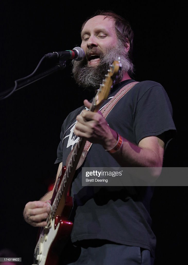 Doug Martsch of Built to Spill performs during the Rock for Oklahoma Benefit at the Chesapeake Energy Arena on July 23, 2013 in Oklahoma City, Oklahoma.