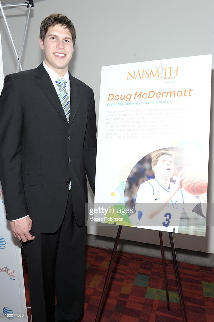 Doug McDermott attends the NABC Guardians of the Game Awarding of the Naismith Trophy Presented by AT&T at Georgia World Congress Center on April 7, 2013 in Atlanta, Georgia.