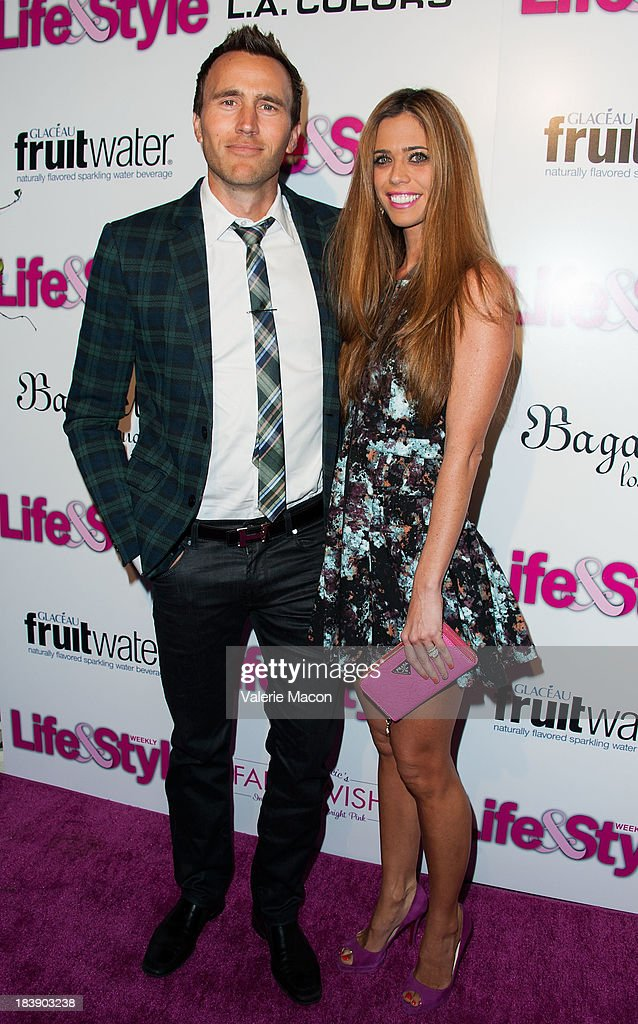 Doug McLaughlin and Lydia McLaughlin arrives at Life & Style's Hollywood In Bright Pink Event Hosted By Giuliana Rancic at Bagatelle on October 9, 2013 in Los Angeles, California.