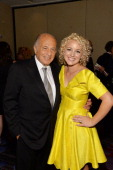 Doug Morris and Cam attend Songwriters Hall Of Fame 45th Annual Induction And Awards Arrivals at Marriott Marquis Theater on June 12 2014 in New York...