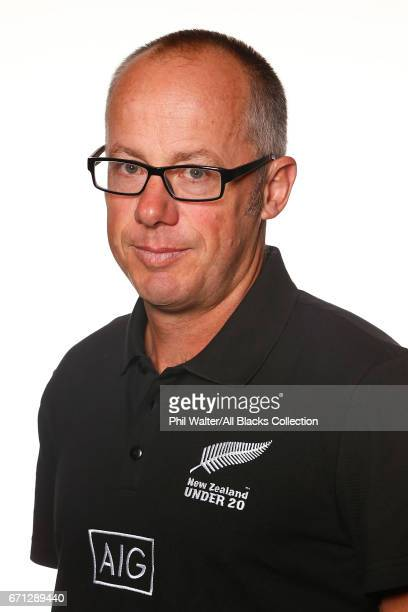Doug Neilson poses during the New Zealand U20 Headshots Session at Novotel Auckland Airport on April 22 2017 in Auckland New Zealand