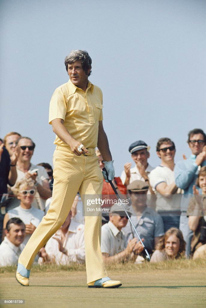 Doug Saunders of the United States during the101st Open Championship on 15 July 1972 at the Muirfield Golf Links in Gullane East Lothian Scotland