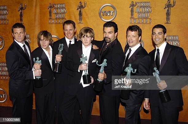 Doug Savant Shawn Pyfrom Mark Moses Cody Kasch Ricardo Antonio Chavira Steven Culp and Jesse Metcalf cast of Desperate Housewives