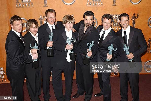 Doug Savant Shawn Pyfrom Mark Moses Cody Kasch Ricardo Antonio ChaviraSteven Culp and Jesse Metcalfe of 'Desperate Housewives' winners for...