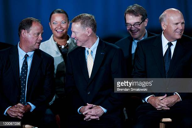 Doug Speck President and CEO of Volvo Cars North America Environmental Protection Agency Administrator Lisa P Jackson Alan Mulally President and CEO...