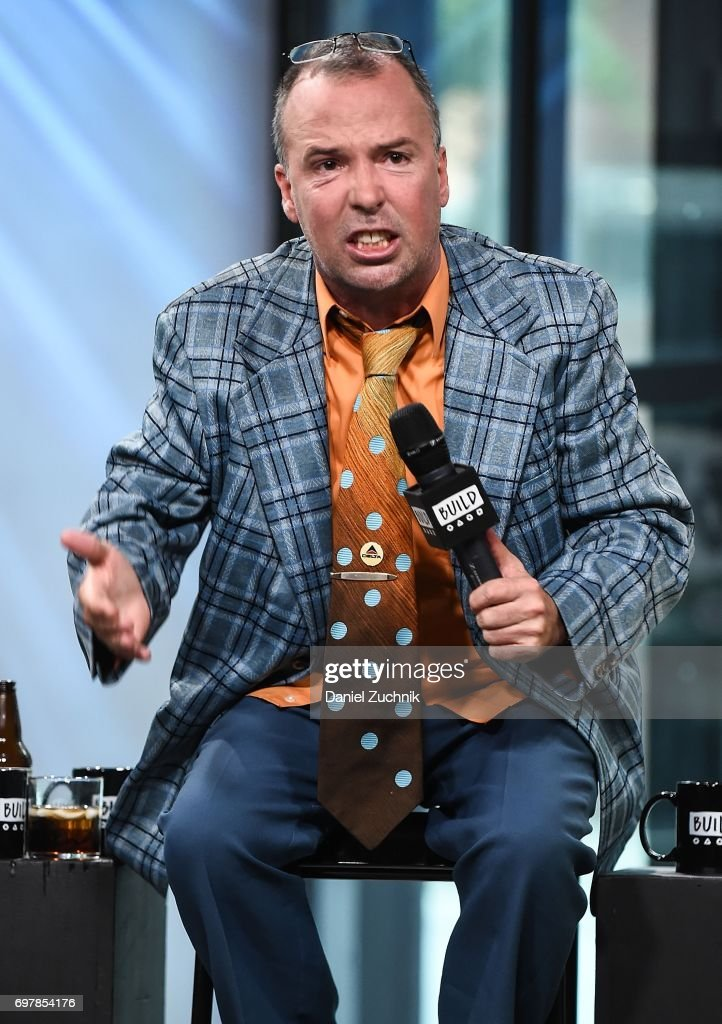 Doug Stanhope attends the Build Series to discuss his new comedy special 'The Comedians' Comedian's Comedians' at Build Studio on June 19, 2017 in New York City.