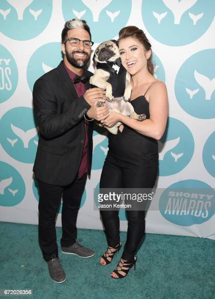 Doug the Pug attends the 9th Annual Shorty Awards at PlayStation Theater on April 23 2017 in New York City