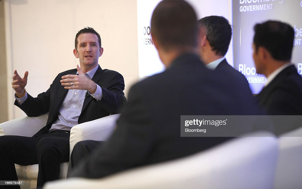 Doug Ulman, chief executive officer of The Livestrong Foundation, speaks at Bloomberg Government's 'Mind The Gap: Connecting Health Care Policy with Next Century Innovation' conference in Washington, D.C., U.S., on Tuesday, Nov. 5, 2013. The conference brings together business and government leaders to discuss the transformation of health care through technology and innovation. Photographer: Julia Schmalz/Bloomberg via Getty Images Doug Ulman