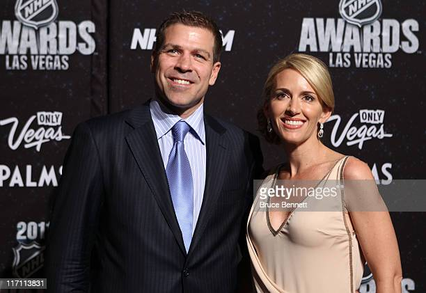 Doug Weight of the New York Islanders and wife Allison arrive at the 2011 NHL Awards at the Palms Casino Resort June 22 2011 in Las Vegas Nevada