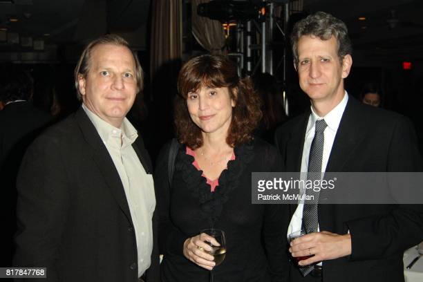 Doug Wick Kim Masters and Gary Simpson attend Malcolm Gladwell And Lisa Eric Eisner Dinner in Celebration and Support of YES at The Sunset Tower on...