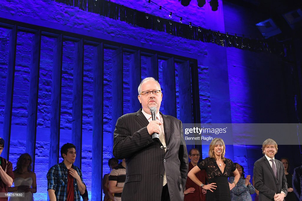 <a gi-track='captionPersonalityLinkClicked' href=/galleries/search?phrase=Doug+Wright&family=editorial&specificpeople=234698 ng-click='$event.stopPropagation()'>Doug Wright</a> attends 'Hands On A Hard Body' Broadway Opening Night at The Brooks Atkinson Theatre on March 21, 2013 in New York City.