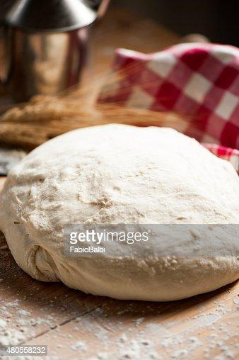 dough for bread : Stock Photo