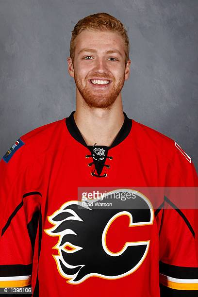 Dougie Hamilton of the Calgary Flames poses for his official headshot for the 20162017 season on September 22 2016 at the WinSport Winter Sport...