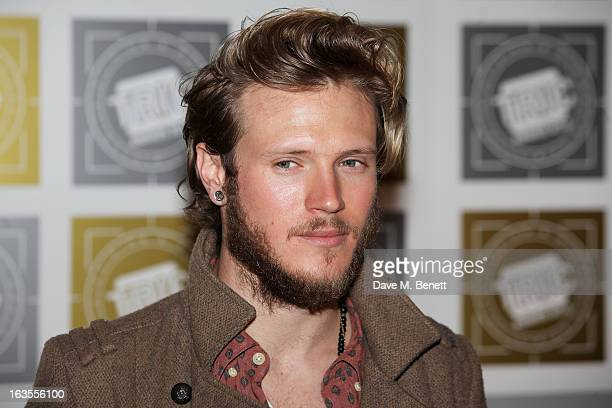 Dougie Poynter arrives at the TRIC Television and Radio Industries Club Awards at The Grosvenor House Hotel on March 12 2013 in London England