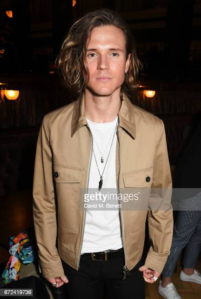 Dougie Poynter attends a preopening dinner hosted by Ed Drewett at Malibu Kitchen at The Ned London on April 24 2017 in London England