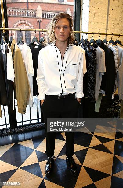Dougie Poynter attends Ami Mayfair Store Opening on May 4 2016 in London England