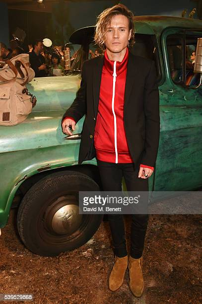 Dougie Poynter attends the Belstaff presentation during The London Collections Men SS17 at QEII Centre on June 12 2016 in London England