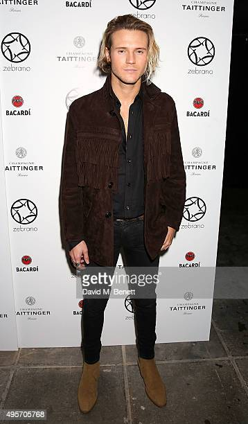 Dougie Poynter attends the launch of Zebrano Restaurant on November 4 2015 in London England