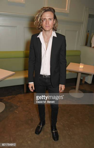 Dougie Poynter attends the press night after party for 'Cat On A Hot Tin Roof' at The National Cafe on July 24 2017 in London England