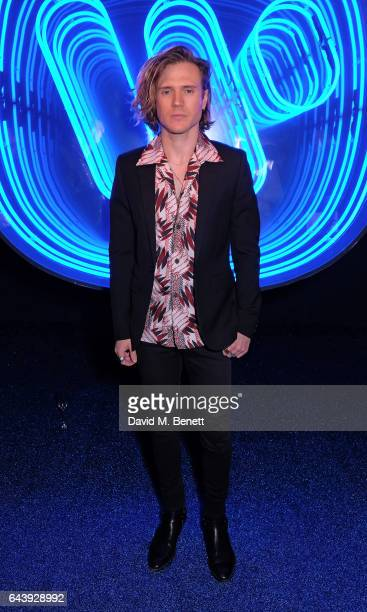 Dougie Poynter attends The Warner Music Ciroc Brit Awards After Party on February 22 2017 in London England