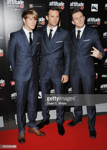Dougie Poynter Harry Judd and Danny Jones of McFly attend the Attitude Magazine Awards at One Mayfair on October 16 2012 in London England
