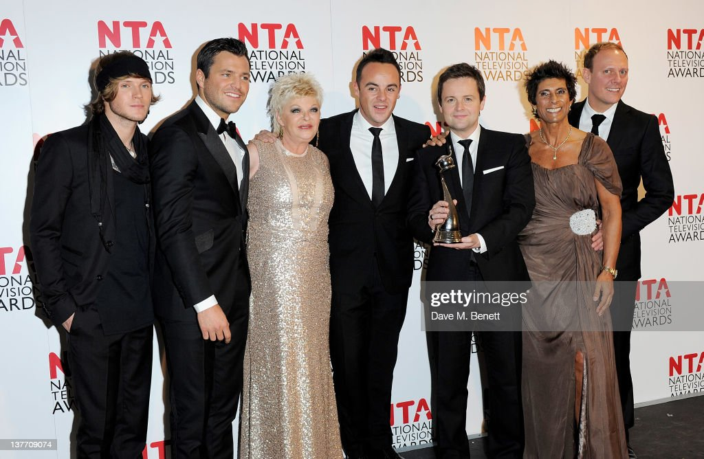 National Television Awards 2012 - Winners Boards