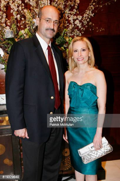 Douglas Blonsky and Gillian Miniter attend Madison Avenue PLATINUM JEWELS IN BLOOM Benefitting CENTRAL PARK CONSERVANCY at 32 Jewelry Boutiques on...
