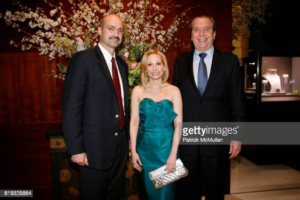 Douglas Blonsky Gillian Miniter and Henri Barguirdjian attend Madison Avenue PLATINUM JEWELS IN BLOOM Benefitting CENTRAL PARK CONSERVANCY at 32...