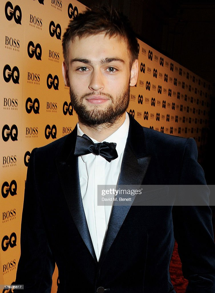 Douglas Booth arrives at the GQ Men of the Year awards at The Royal Opera House on September 3, 2013 in London, England.