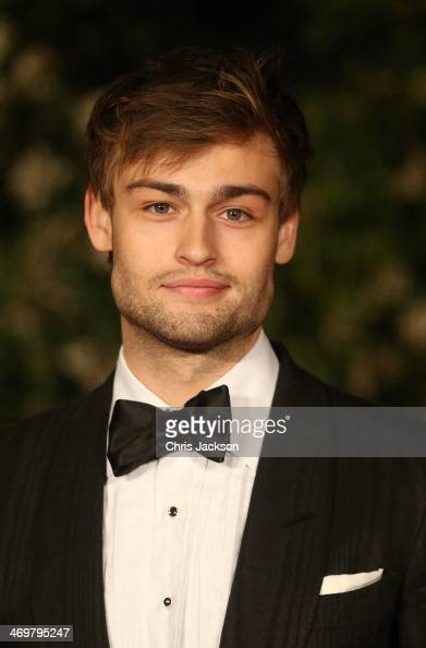 Douglas Booth attends an official dinner party after the EE British Academy Film Awards at The Grosvenor House Hotel on February 16 2014 in London...
