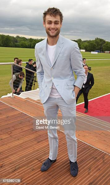 Douglas Booth attends day two of the Audi Polo Challenge at Coworth Park on May 31 2015 in London England