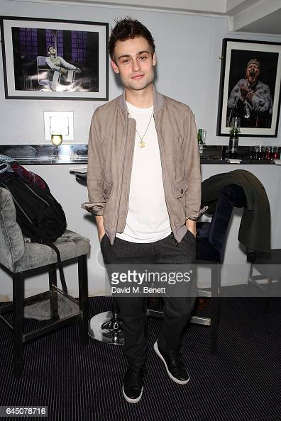 Douglas Booth attends Press Night after party For 'Speech and Debate' on February 24 2017 in London England