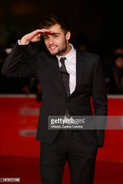 Douglas Booth attends 'Romeo And Juliet' Premiere during The 8th Rome Film Festival at Auditorium Parco Della Musica on November 11 2013 in Rome Italy