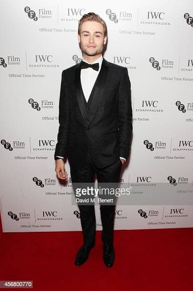 Douglas Booth attends the BFI London Film Festival IWC Gala Dinner in honour of the BFI at Battersea Evolution Marquee on October 7 2014 in London...