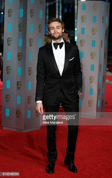 Douglas Booth attends the EE British Academy Film Awards at The Royal Opera House on February 14 2016 in London England