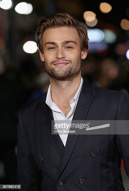 Douglas Booth attends the European premiere of 'Pride And Prejudice And Zombies' at Vue West End on February 1 2016 in London England