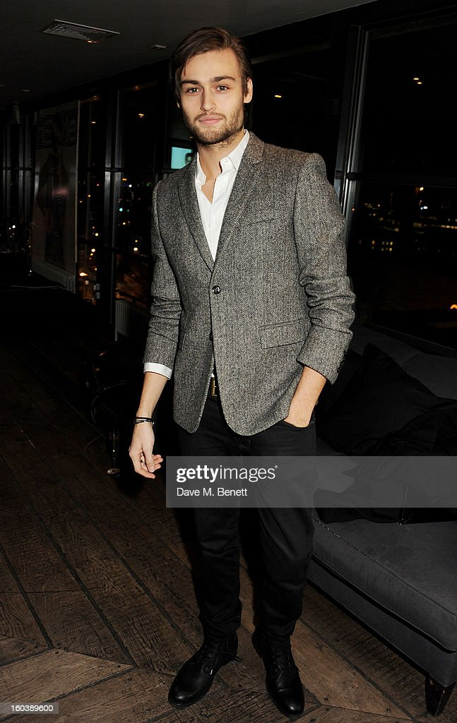 Douglas Booth attends the InStyle Best Of British Talent party in association with Lancome and Avenue 32 at Shoreditch House on January 30, 2013 in London, England.