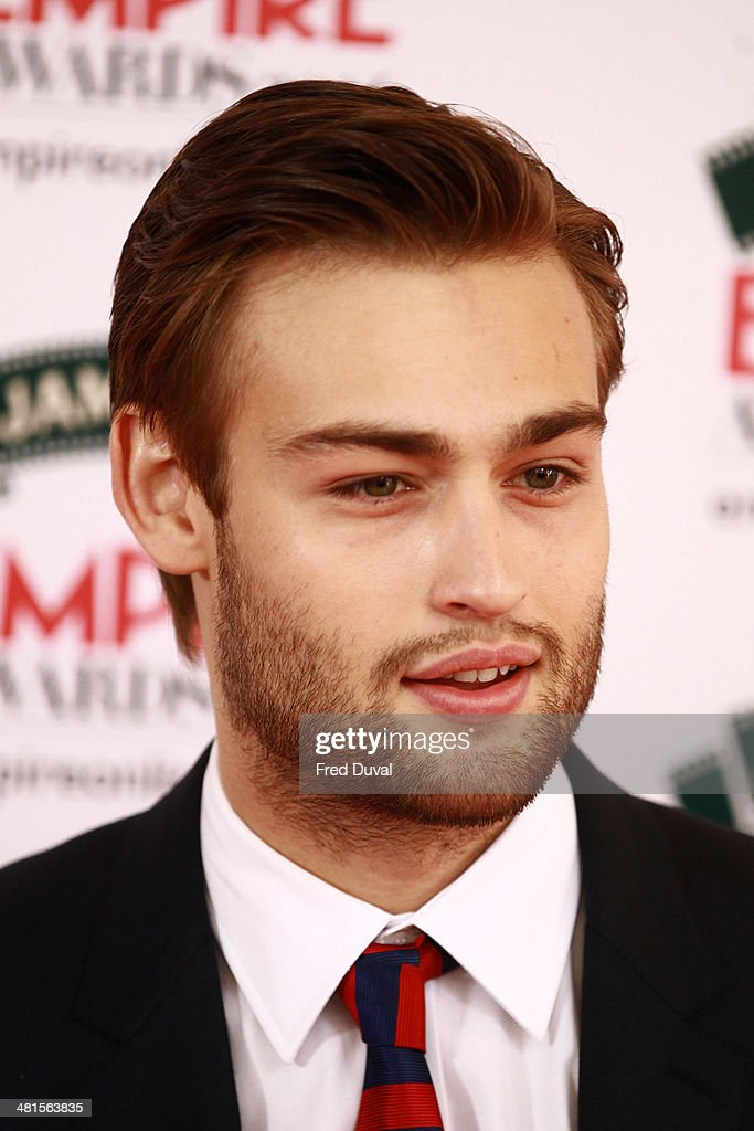 Douglas Booth attends the Jameson Empire Film Awards at The Grosvenor House Hotel on March 30, 2014 in London, England.