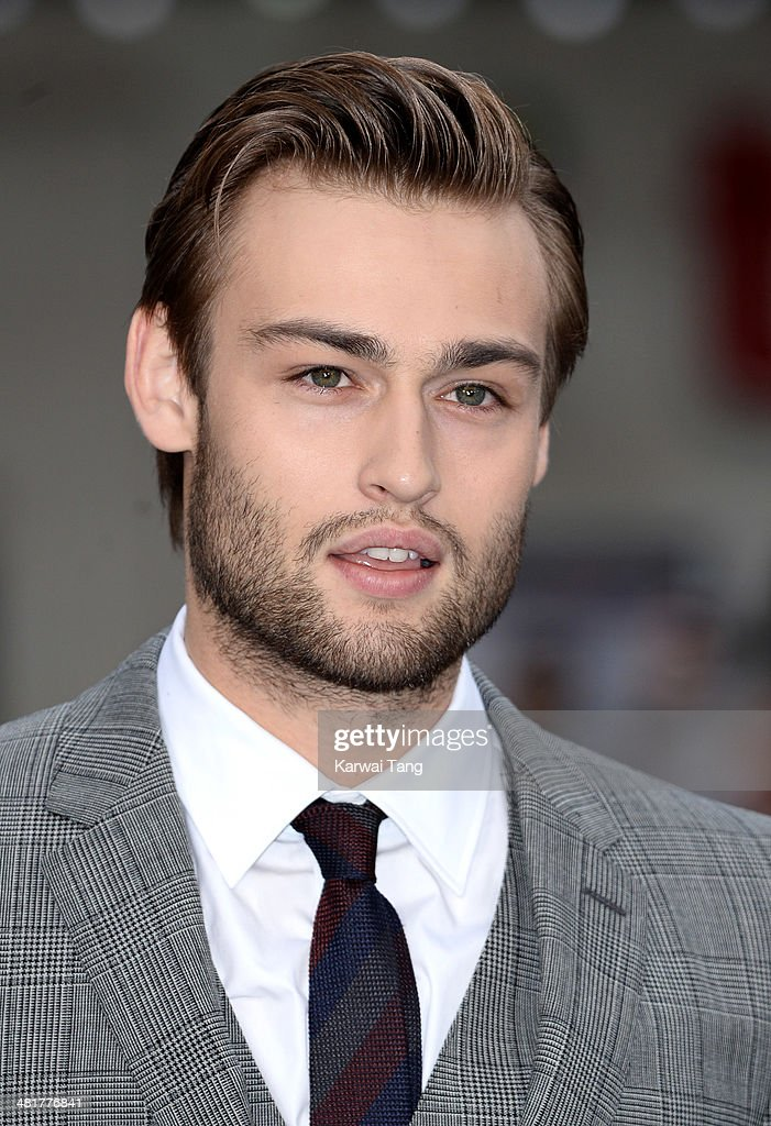 Douglas Booth attends the UK premiere of 'Noah' held at the Odeon Leicester Square on March 31, 2014 in London, England.