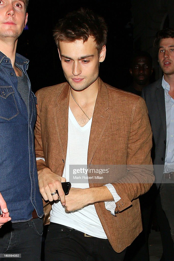 Douglas Booth attends the W Magazine September issue party at The London EDITION hotel on September 14, 2013 in London, England.