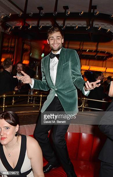 Douglas Booth attends The Weinstein Company Entertainment Film Distributor StudioCanal 2015 BAFTA After Party in partnership with Jimmy Choo GREY...