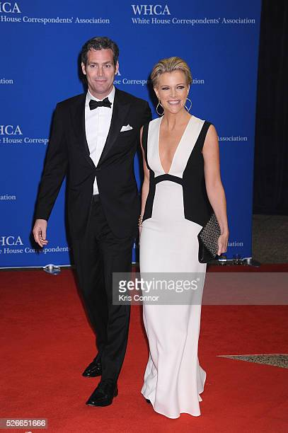 Douglas Brunt and Megyn Kelly attend the 102nd White House Correspondents' Association Dinner on April 30 2016 in Washington DC