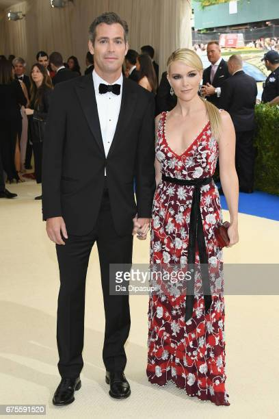 Douglas Brunt and Megyn Kelly attend the 'Rei Kawakubo/Comme des Garcons Art Of The InBetween' Costume Institute Gala at Metropolitan Museum of Art...