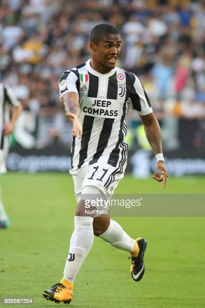 Douglas Costa Juventus FC during the Serie A football match between Juventus FC and Cagliari Calcio at Allianz Stadium on august 19 2017 in Turin...