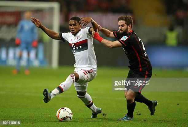 Douglas Costa Marc Stendera Fussball Bundesliga Eintracht Frankfurt FC Bayern München
