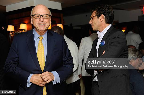 Douglas Elliman Howard Lorber attends an intimate dinner to welcome de Grisogono's Fawaz Gruosi to NYC hosted by DuJour Media's Jason Binn at Harry...