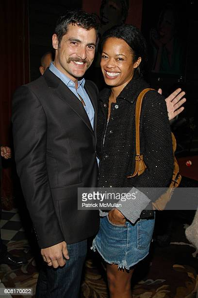 Douglas Friedman and Bonnie Morrison attend CALVIN KLEIN INC Wilhelmina Models Surprise Party for GABRIEL AUBRY at Rose Bar @ The Gramercy Park Hotel...