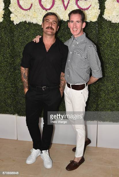Douglas Friedman and Kevin Sharkey attend the weekend opening of The NEW ultraluxury Cove Resort at Atlantis Paradise Island on November 4 2017 in...