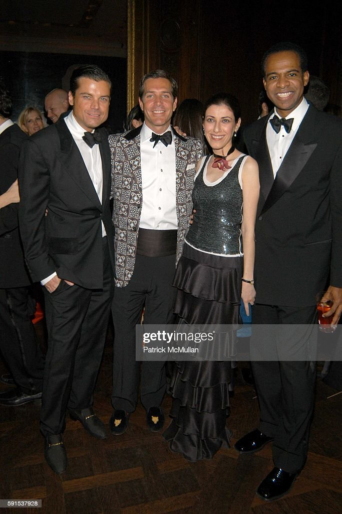 Douglas Hannant Christian Leone Behnaz Sarafpour and Frederick Anderson attend Neue Gallery Winter Gala Sponsored by Gucci at Neue Gallery New York...
