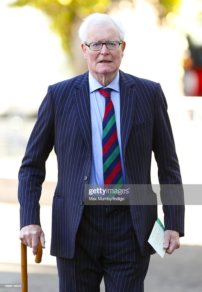 Douglas Hurd attends a service of celebration to mark the 60th anniversary of the Coronation of Queen Elizabeth II at Westminster Abbey on June 4, 2013 in London, England. The Queen's Coronation took place on June 2, 1953 after a period of mourning for her father King George VI, following her ascension to the throne on February 6, 1952. The event 60 years ago was the first time a coronation was televised for the public.